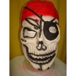 Máscara Pirata Caveira
