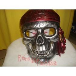 Máscara Caveira Pirata