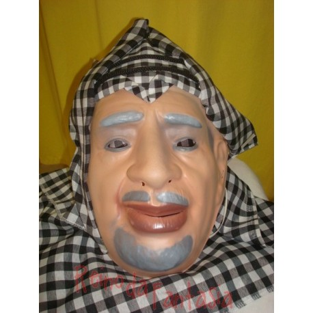 Máscara Yasser Arafat