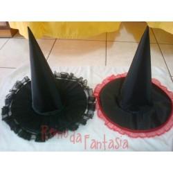 Chapéu de Bruxa Decorado