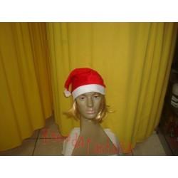 Gorro de Papai Noel de veludinho  c/brilho